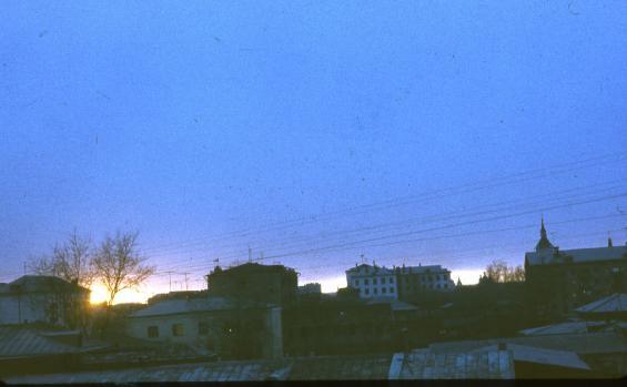 Вид из окна 5 эт,Дзержинского,31