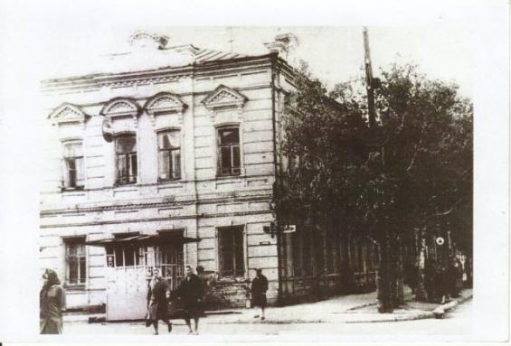 Здание НКВД
