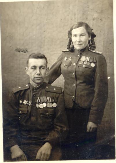 Барыбины Леонид Павлович и Надежда Максимовна
