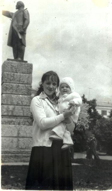 С мамой в горсаду