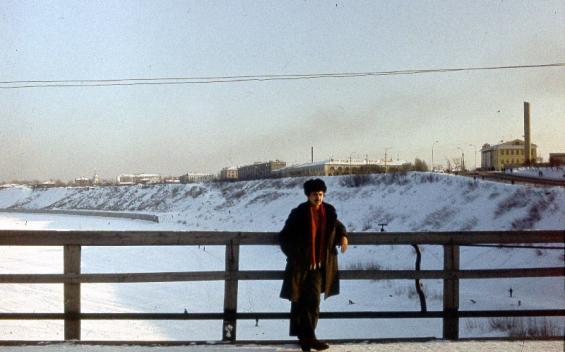 Вид со старого моста через Туру